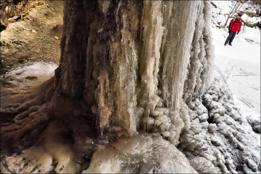 водопад, цыпово места