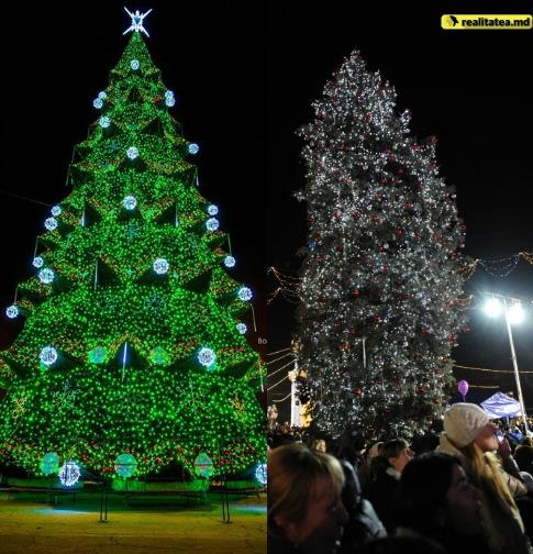 елка в кишиневе, новый год