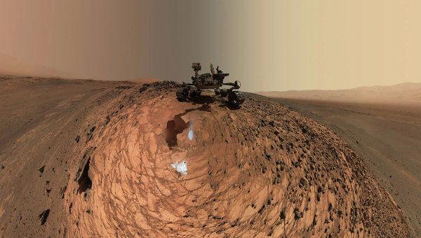 """НАСА опасается """"загрязнения"""" вод Марса марсоходом Curiosity"""