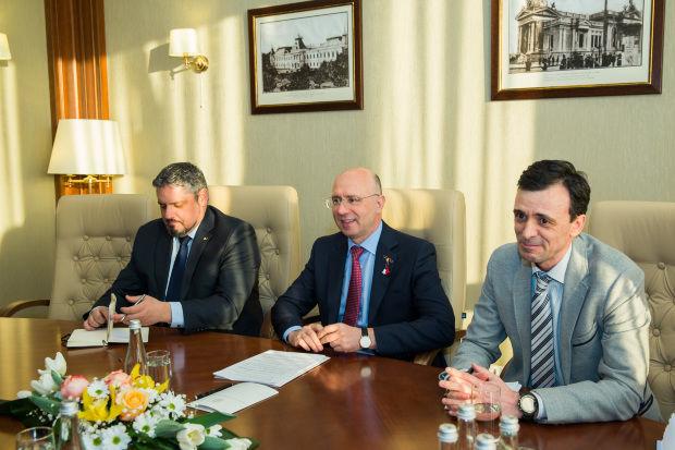Филип провел встречу с представителями Атлантического совета