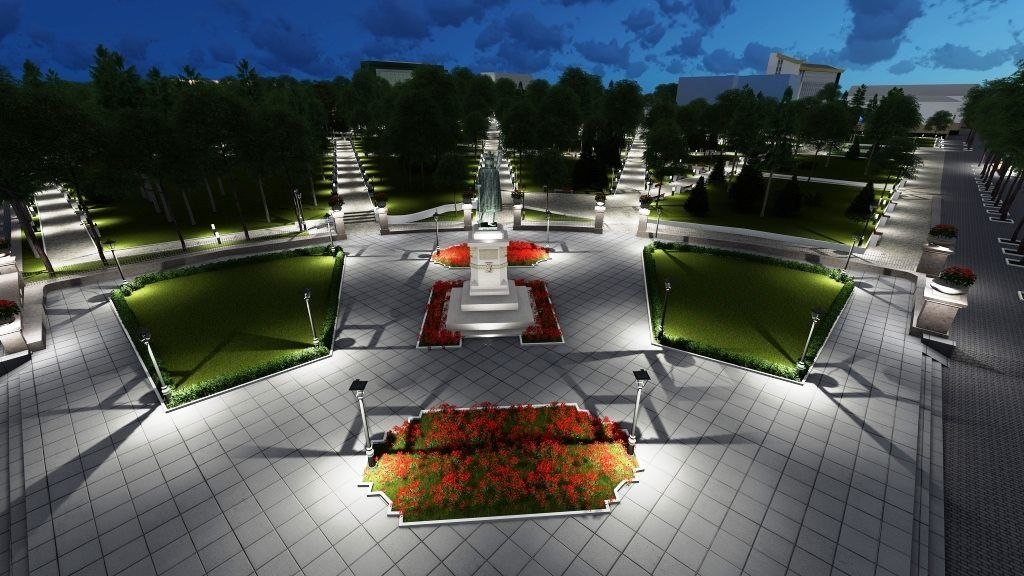 Картинки по запросу Парк Штефана чел Маре модернизируют