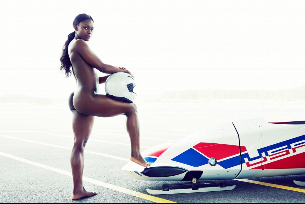 Фото спортсменок случайно оголившись