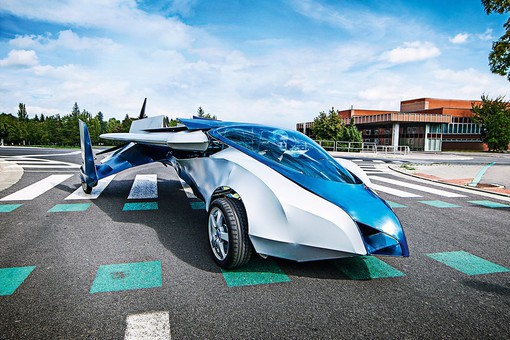 летающий автомобиль, высокие технологии