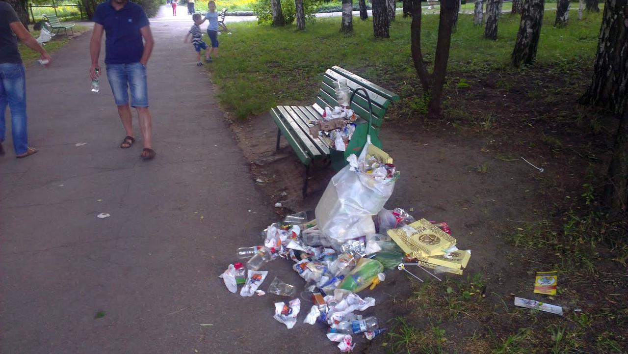 кишинёв, мусор