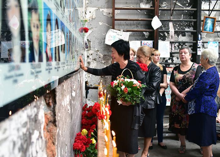 В Беслане почтили память жертв трагедии