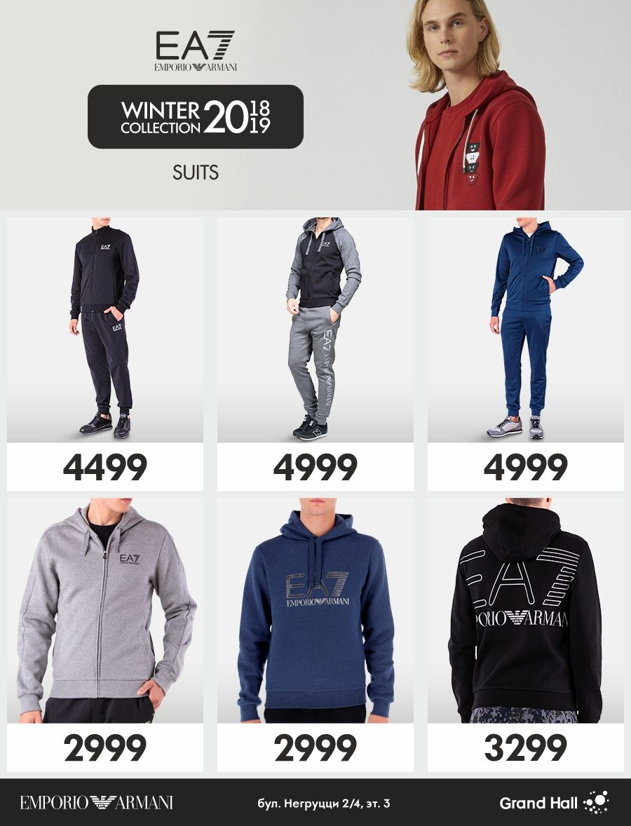 Верхняя одежда от Ea7 – отличное решение этого вопроса. В фирменном  магазине Emporio Armani вы сможете выбрать именно ту модель, которая  подходит под ваш ... 14031f64e58