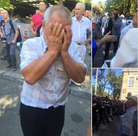 Адвокат: Полиция применила оружие против участников протеста