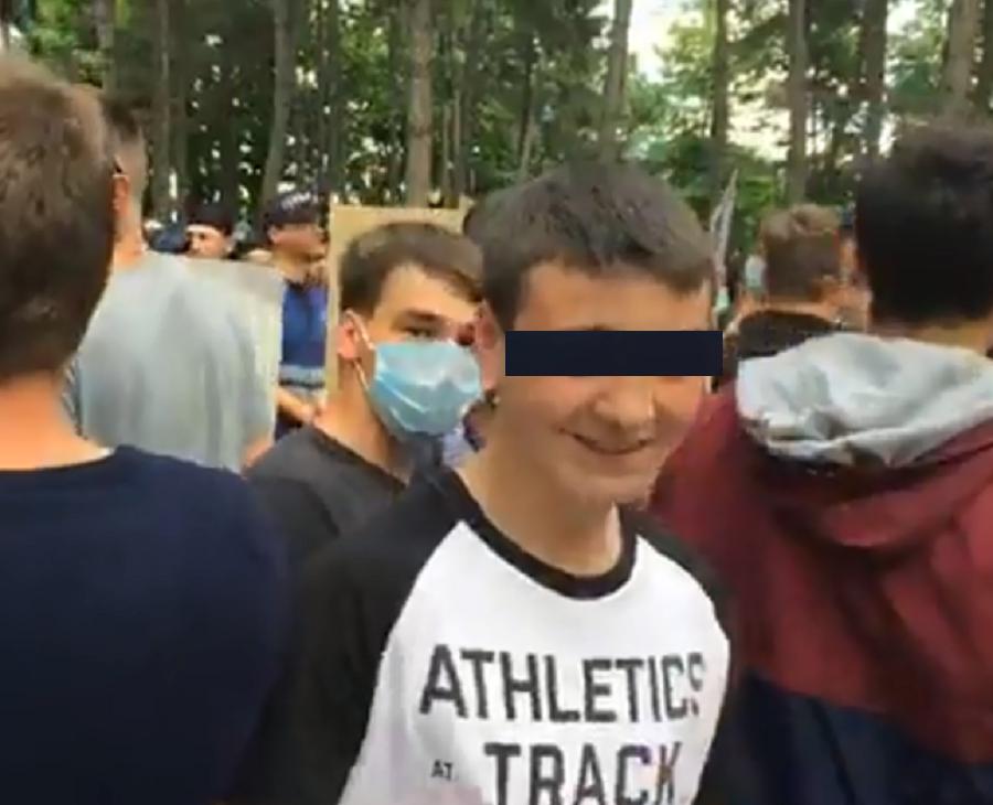 Кавкалюк об участии детей в контр-протесте: Мы проверяем эту информацию