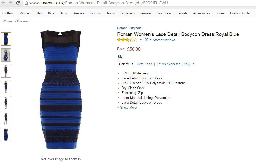 цвет, платье
