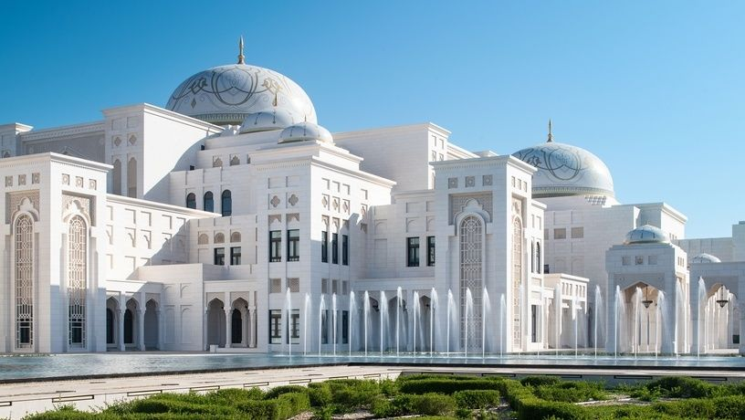 Туристам теперь можно заходить внутрь президентского дворца в Абу-Даби