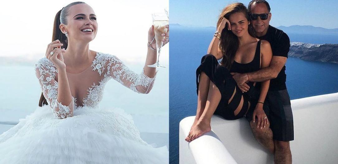 Ксения дели фото свадьба