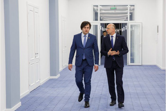 Филип и Кобахидзе обсудили молдавско-грузинское сотрудничество