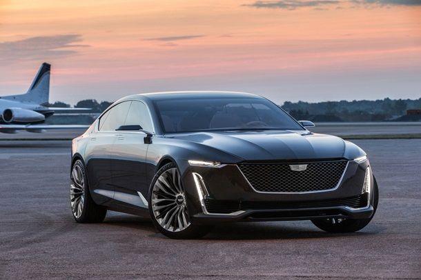 Cadillac представил роскошный концепткар