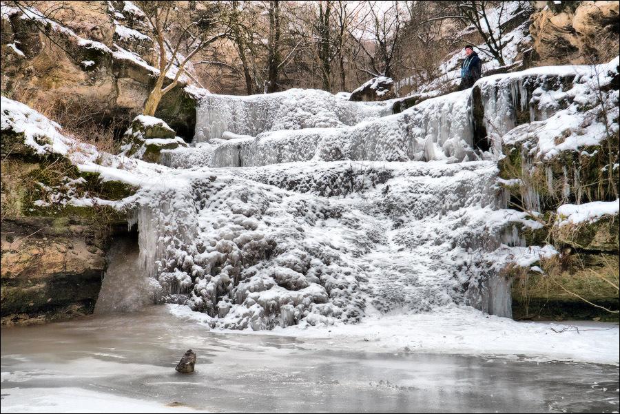 цыпово места, водопад