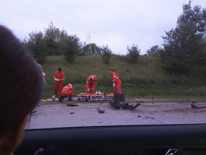 Серьезная авария произошла сегодня на трассе Кишинев-Бельцы