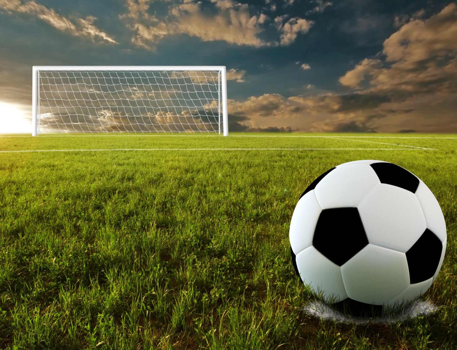 Картинки футбольный мяч на поле, годовщиной свадьбы