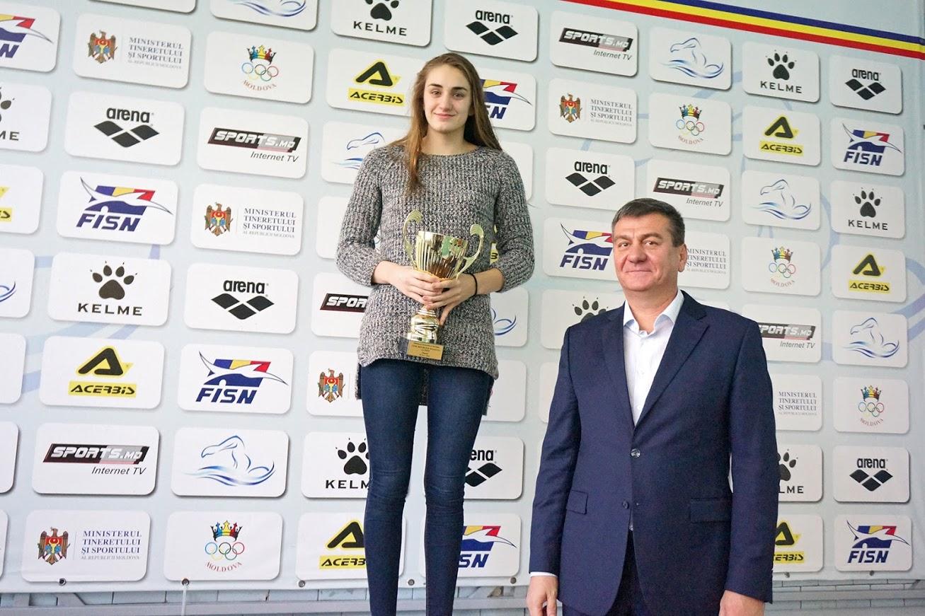Резултат с изображение за Анна Космина.молдова плавание