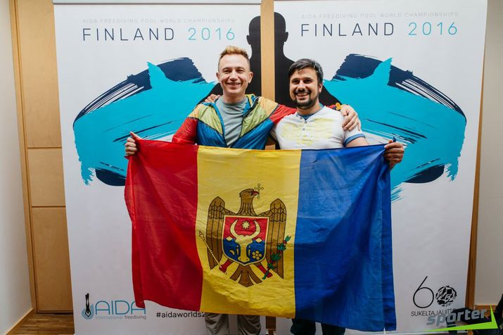 freediving, молдавский фридайвер