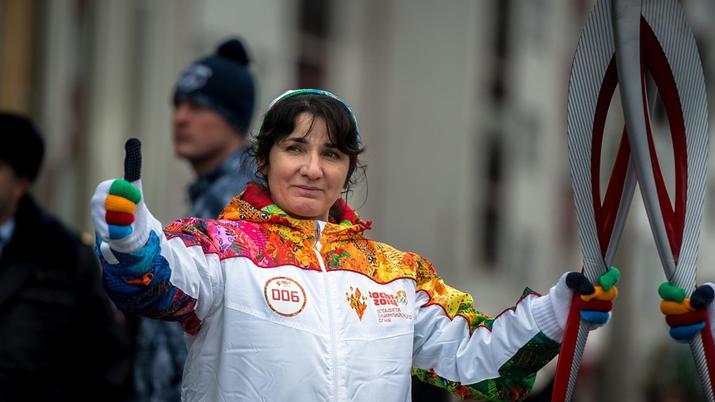 лейла албогачиева, альпинистка