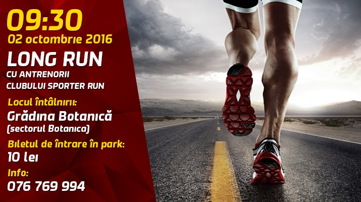 antrenament de alergare, sporter run