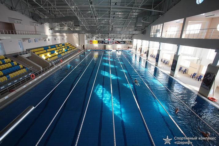 день водных видов спорта, синхронное плаванье