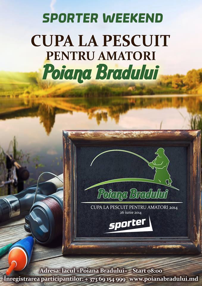poiana bradului, кубок по спортивной рыбалке