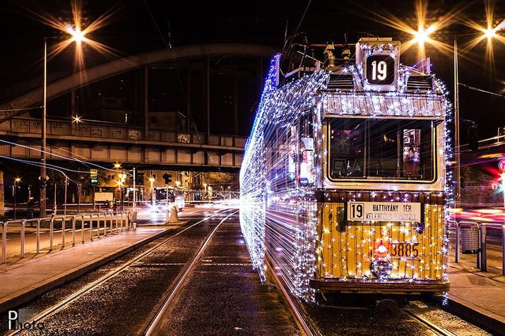 свет, трамвай