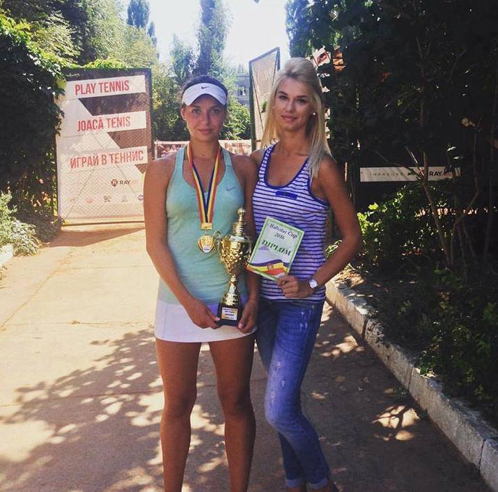 молдавская теннисистка, теннисный турнир