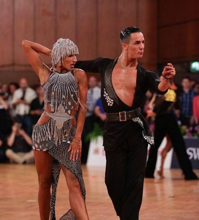 латинские танцы, анна матус и габриэль гоффредо