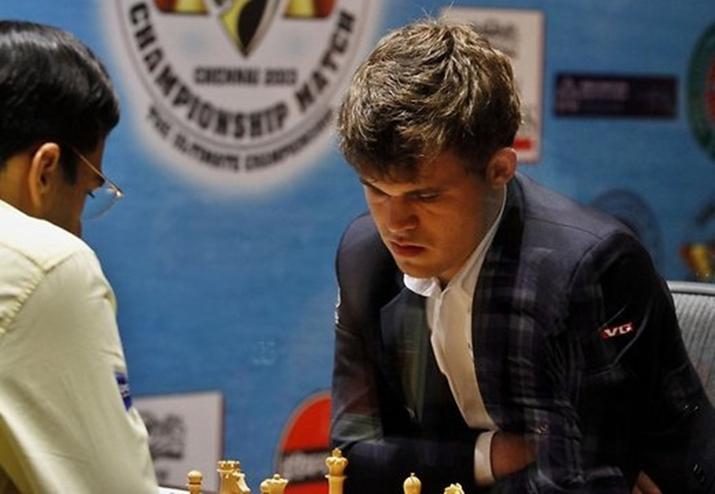 шахматная корона, магнусом карлсеном