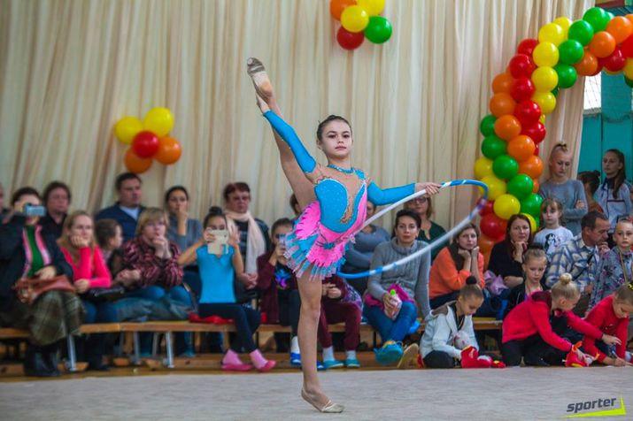художественная гимнастика, открытое первенство лицея dacia