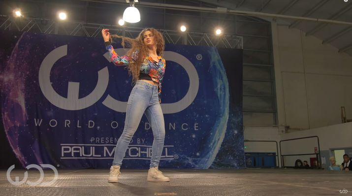 tutting, world of dance