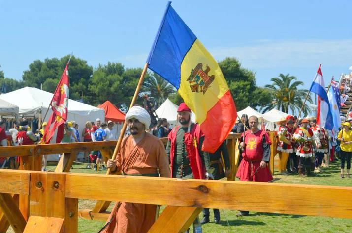 историческое фехтование в молдове, рыцари и лучники в молдове
