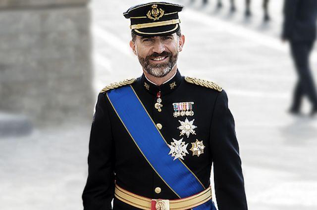 король испании, фелипе