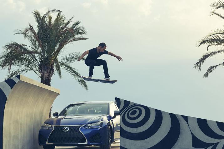 lexus, скейтборд