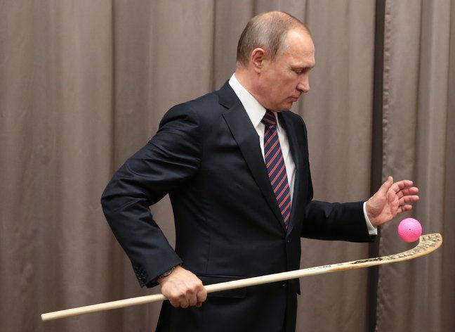 владимир путин, русский хоккей