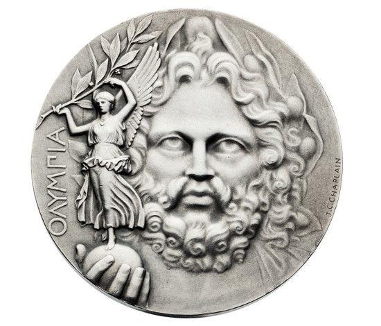 медаль олимпийских игр, олимпийские игры 1896