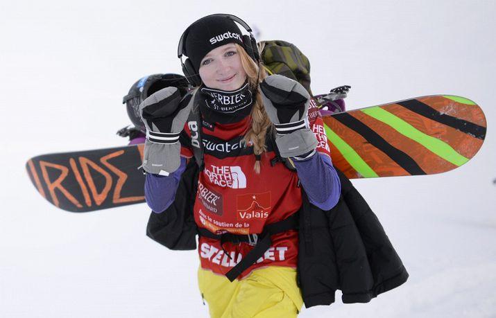 сноубординг, эстель бале