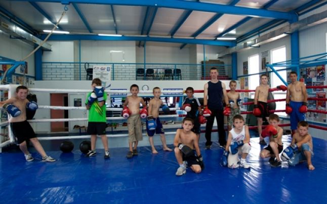 республиканская специализировання школа, бокс