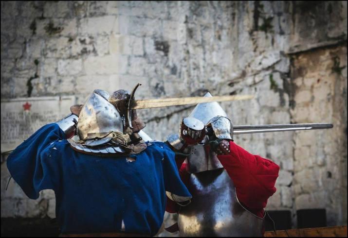 историческое фехтование, исторический средневековый бой