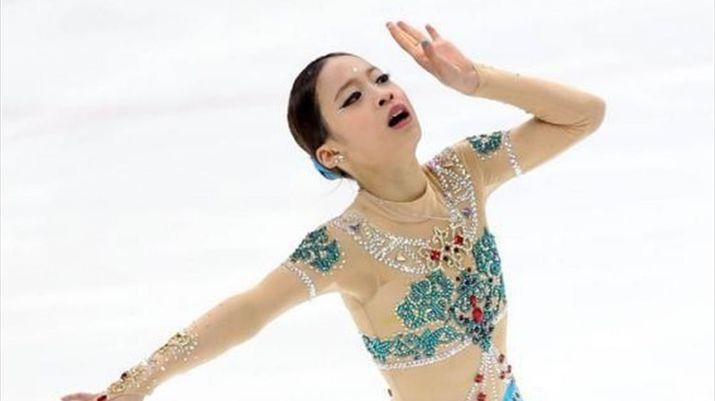 11летняя фигуристка, южная корея