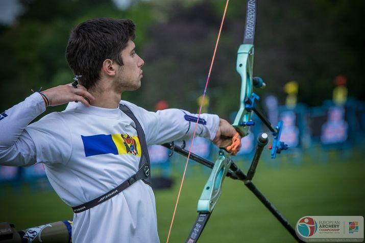 стрельба из лука, молдавский лучник
