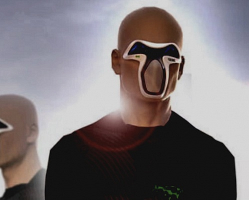 многослойная маска, дышать под водой