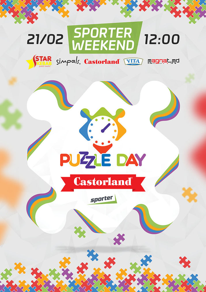 puzzle day, castorland