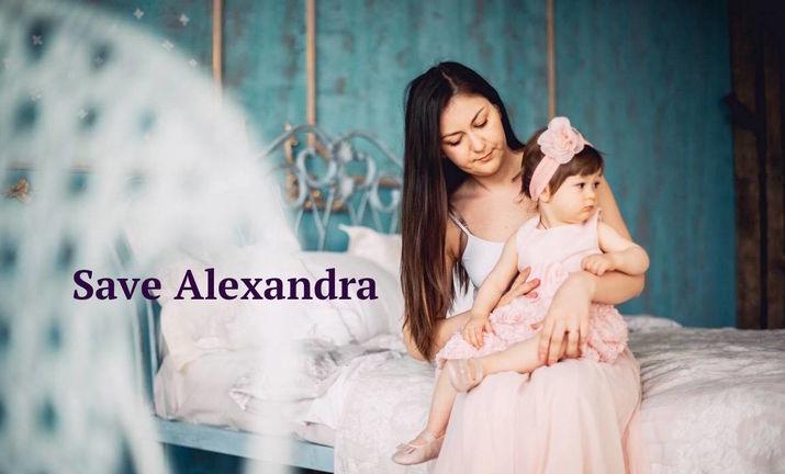 actiune de caritate, save alexandra
