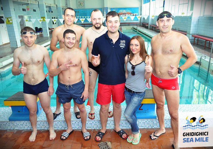 sporter swim, sea mile