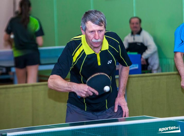 турнир 60летия, ветеран настольного тенниса