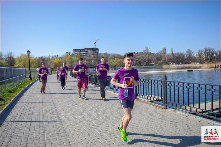 республиканский волонтерский центр, кишиневский марафон