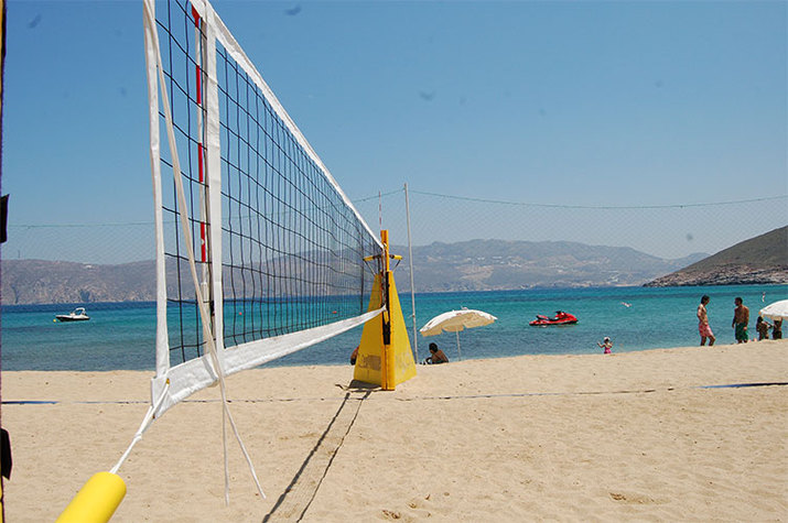 пляжный волейбол, поле
