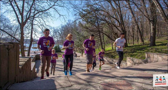 chisinau marathon, республиканский волонтерский центр